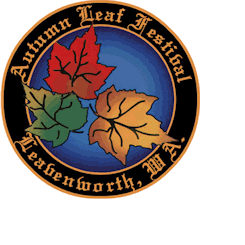 Autumn leaf festival logo