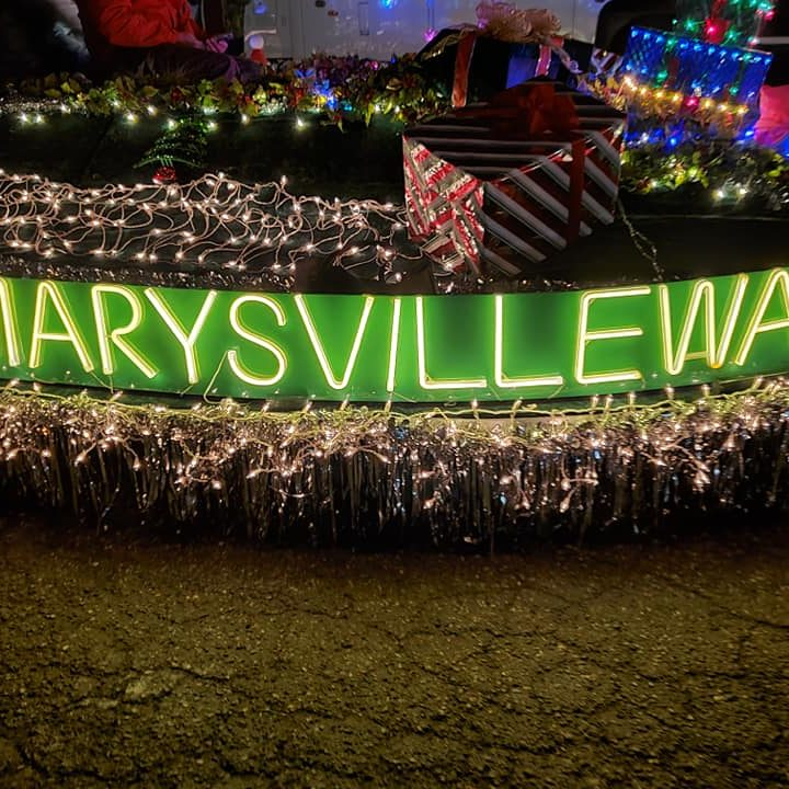 Marysville Float contestent