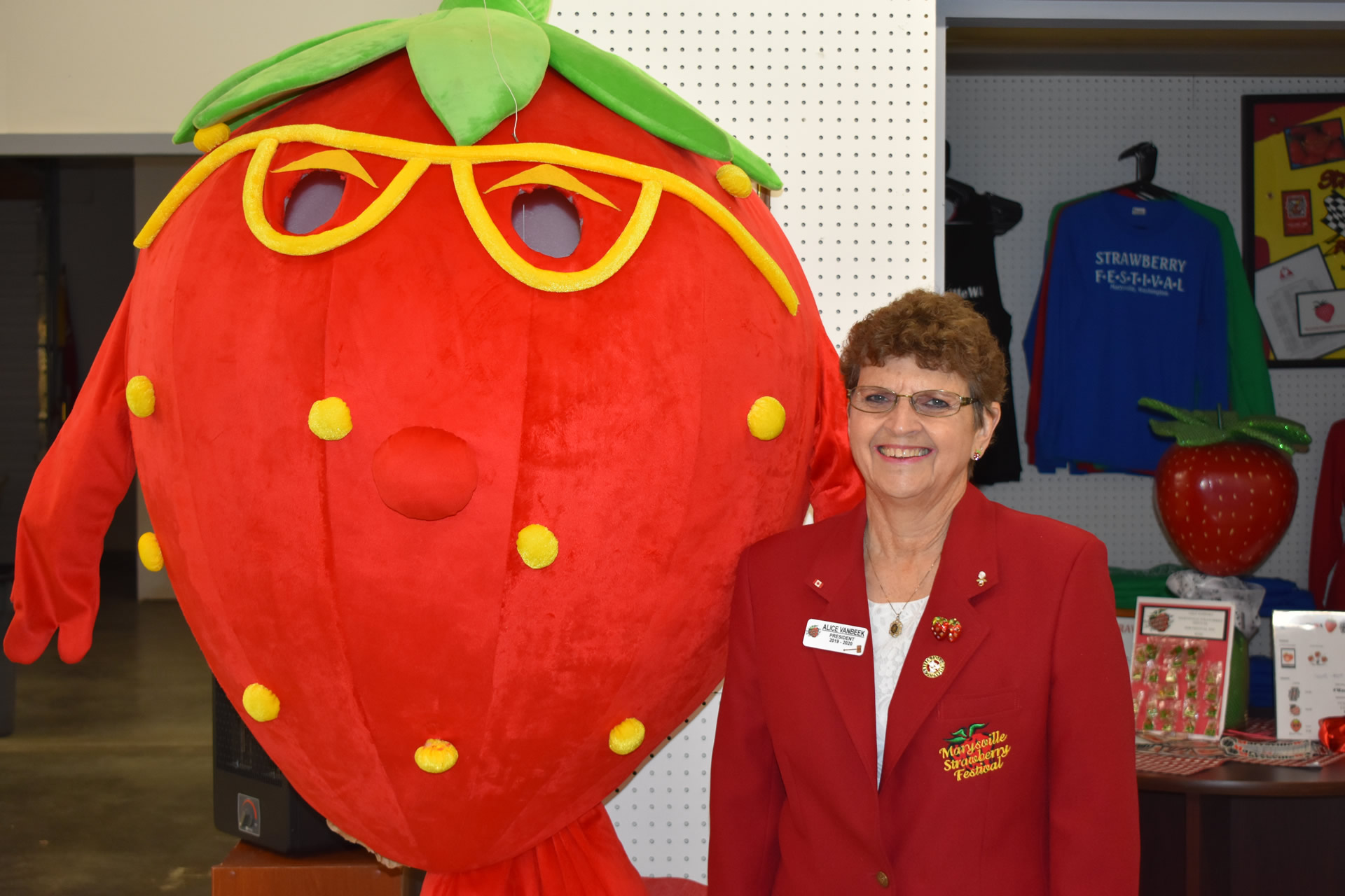 Marysville Strawberry Festival President 2020
