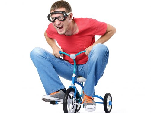 Trike race entry
